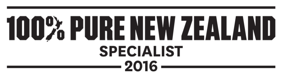 100% Pure New Zealand Specialist 2016