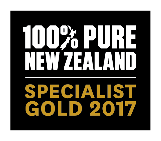 100% Pure New Zealand Specialist Gold 2017