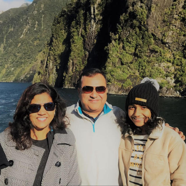 Prashanth, Shilpa and Aditi's self-drive family holiday in New Zealand with The Long White Cloud